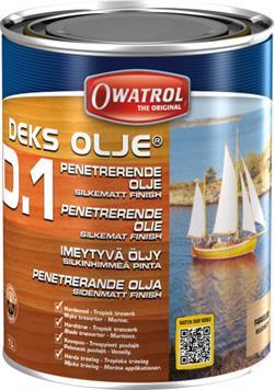 Owatrol Marine D1 dækolie - 1 ltr